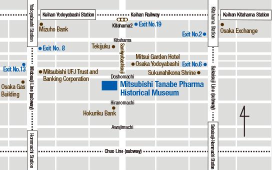 Guide to Visiting the Museum Mitsubishi Tanabe Pharma